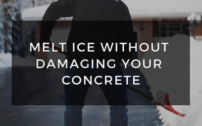 Melt Ice Without Damaging Your Concrete